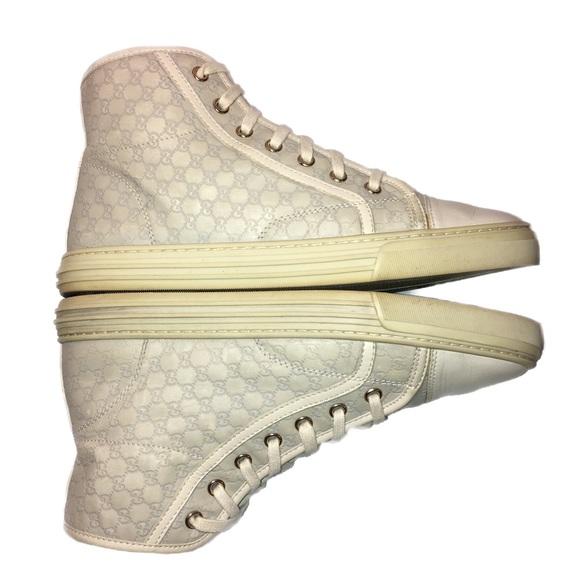 1dc79b5fe841 Gucci Shoes - GUCCI Brooklyn Guccissima Leather Hi-Top Sneaker🏆